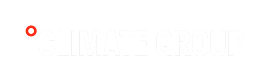 Climate Group logo white