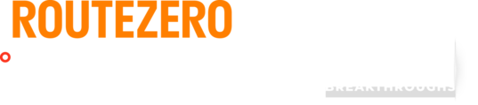 RouteZero logo lockup