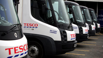 tesco electric vans