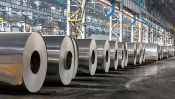 Rolls of steel sheets
