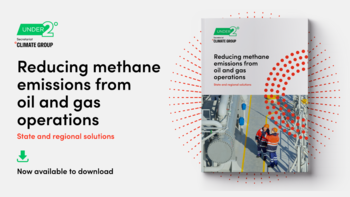 Reducing methane emissions from oil and gas operations